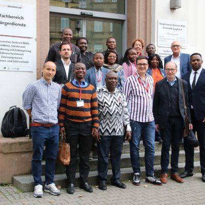 Delegation aus Ghana und Nigeria